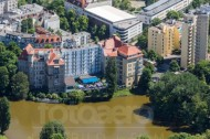 Hotel Seehof und Pension Belle Etage am Lietzensee im Berliner Stadtteil Charlottenburg-Wilmersdorf.