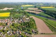 Kössern mit der Mulde in Grimma im Bundesland Sachsen