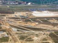 """Flughafen Berlin Brandenburg """"Willy Brandt"""" in der Hauptstadt Berlin im Bau"""