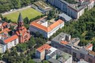 Passionskirsche im Stadtteil Kreuzberg in der Hauptstadt Berlin