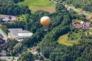 Ballon bei Netzschkau im Vogtland im Bundesland Sachsen