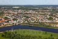 Dresdner Stadtteil Pieschen im Bundesland Sachsen