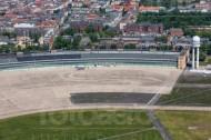 Ehemaliger Flughafen Berlin-Tempelhof in der Hauptstadt Berlin