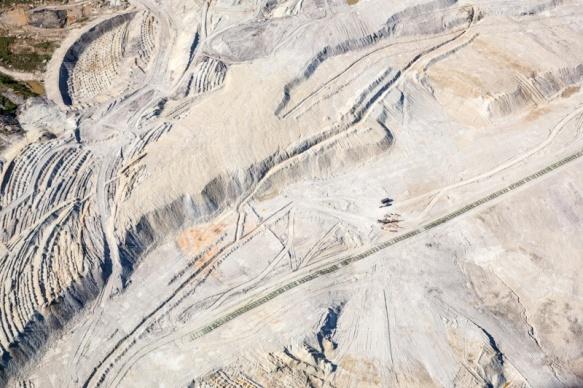Tagebau Bogatynia in Polen