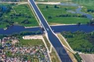 Kanalbrücke Magdeburg im Bundesland Sachsen-Anhalt