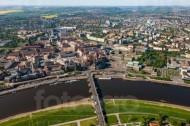 Dresden an der Elbe im Bundesland Sachsen