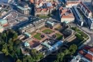 Dresdner Zwinger in der Altstadt in Dresden im Bundesland Sachsen
