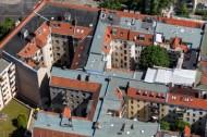 Dachbaustelle in Berlin.