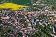 Die Stadt Lommatzsch im Bundesland Sachsen