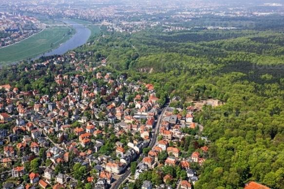 Loschwitz in Dresden im Bundesland Sachsen