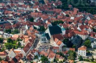 Freiberger Dom im Stadtkern von Freiberg im Bundesland Sachsen