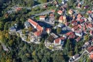 Burg Hohenstein zwischen Frankfurt am Main und Koblenz im Bundesland Hessen