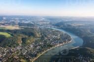Die Mosel im Bundesland Rheinlandpfalz