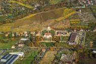 Schloss Wackerbarth in Radebeul im Bundesland Sachsen im Herbst