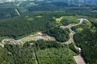 Rennschlitten- und Bobbahn zwischen Altenberg und Waldbärenburg im Bundesland Sachsen