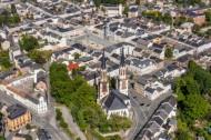 Die Kirche des Oelsnitz Vogtland im Bundesland Sachsen.