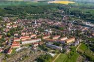Die Stadt Roßwein an der Freiberger Mulde im Bundesland Sachsen.