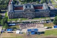 Sächsisches Staatsministerium der Finanzen in Dresden im Bundesland Sachsen