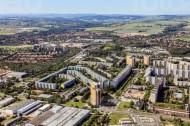 Stadtteil Dresden Prohlis im Bundesland Sachsen.