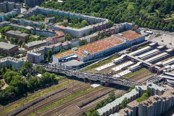Bahnhof Gesundbrunnen in Berlin