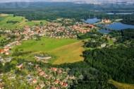 Blick auf Moritzburg im Bundesland Sachsen