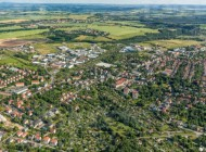 Blick den Dresdner Stadtteil Gittersee im Bundesland Sachsen