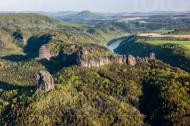 Elbtall der Sächsischen Schweiz im Bundesland Sachsen