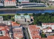 Japanisches Palais in Dresden im Bundesland Sachsen