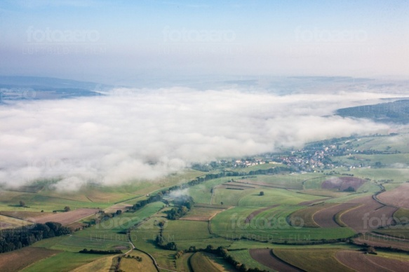 Wolken über einer Stadt