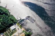 Wassersportzentrum am Senftenberger See im Bundesland Brandenburg