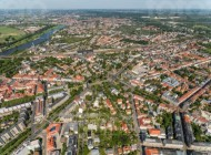 Neustadt von Dresden im Bundesland Sachsen