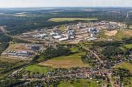 Industriegebiet Schwarzheide im Bundesland Brandenburg