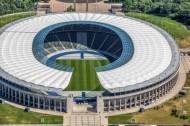 Olympiastadion im Berliner Stadtteil Westend.