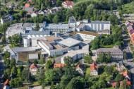 Kreiskrankenhaus in Freiberg im Bundesland Sachsen