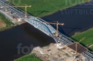 Waldschlößchenbrücke in Dresden im Bundesland Sachsen