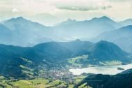 Tegernsee in den Alpen im Bundesland Bayern