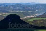 Elbtal der Sächsischen Schweiz im Bundesland Sachsen