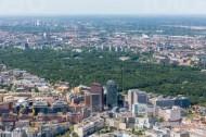 Grünanlage großer Tiergarten im gleichnamigen Stadtteil Berlin Tiergarten.