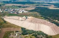 Fertigungsindustrie und Bergbau Zielitz.