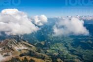 Simmental im Kanton Bern in der Schweiz