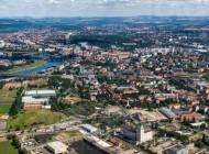 Die Wilsdruffer Vorstadt in Dresden bei Sachsen.