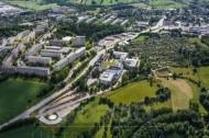 Erzgebirgsklinikum Annaberg in der Stadt Annaberg-Buchholz im Bundesland Sachsen