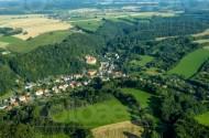 Liebstadt und die Burg Kuckuckstein im Bundesland Sachsen
