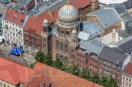 Neue Synagoge Berlin an der Oranienburger Straße in Berlin.