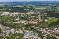 Blick aud den östlichen Teil Plauens im Bundesland Sachsen