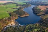 Talsperre Klingenberg im Bundesland Sachsen