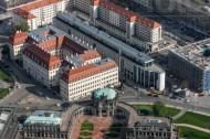Zwinger und Taschenbergpalais in Dresden im Bundesland Sachsen