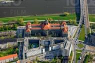 Sächsische Staatskanzlei in Dresden im Bundesland Sachsen