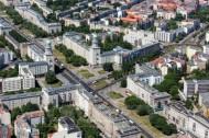 Frankfurter Tor in der Hauptstadt Berlin.
