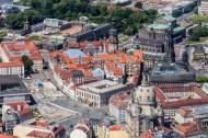 Dresdner Altstadt im Bundesland Sachsen